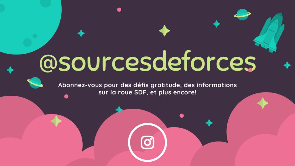 Instagram Sources de forces