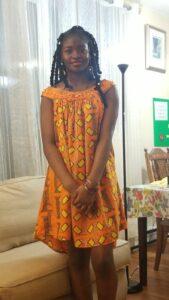 Lucinda Nguetsop, jeune auteure de l'article