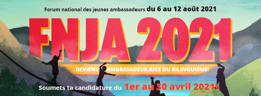 Participe au FNJA 2021