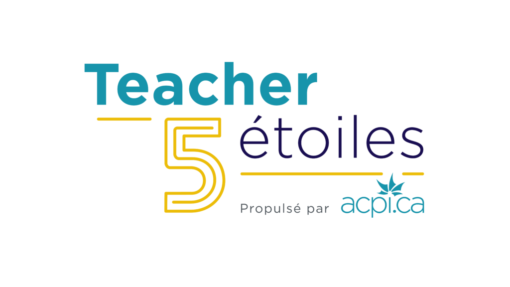 Logo de la campagne Teacher 5 étoiles
