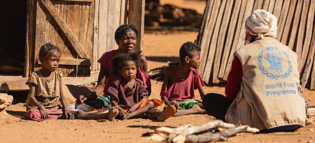 Inervention du Programme alimentaire mondiale à Madagascar