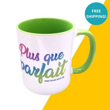 plus que parfait mug