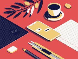Outils de travail bien organisés  S'organiser pour faire ses devoirs